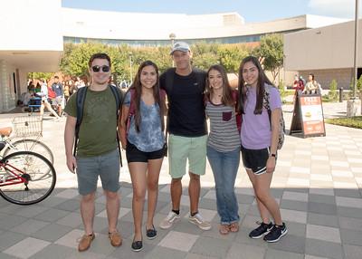 Scotlon Johnson(left), Adrianna Garza, Christian Avyan, Madeline Zambrano, and Alyssa Silva.