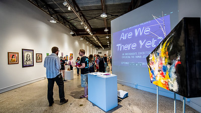 091418 Undergraduate Exhibition: 'Are We There Yet?'