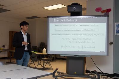 Pilwon Hur speaking at the 2nd Southwest Asian Symposium.