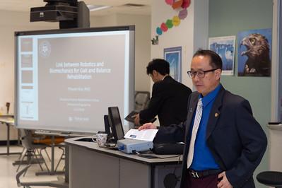 Dugan Um opening the 2nd Southwest Asian Symposium.