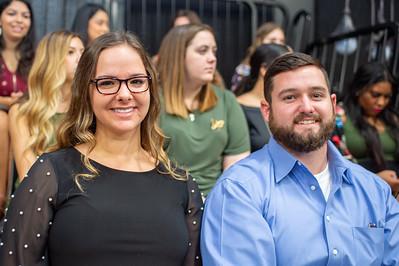Hayley Bennett (left), Adam Blasingame