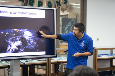 Chuntao Liu presents as part of the Ourtstanding Author Series in the Mary and Jeff Bell Library.