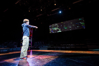 Fall 2018 TAMU-CC's The Curious Incident of the Dog at Night.