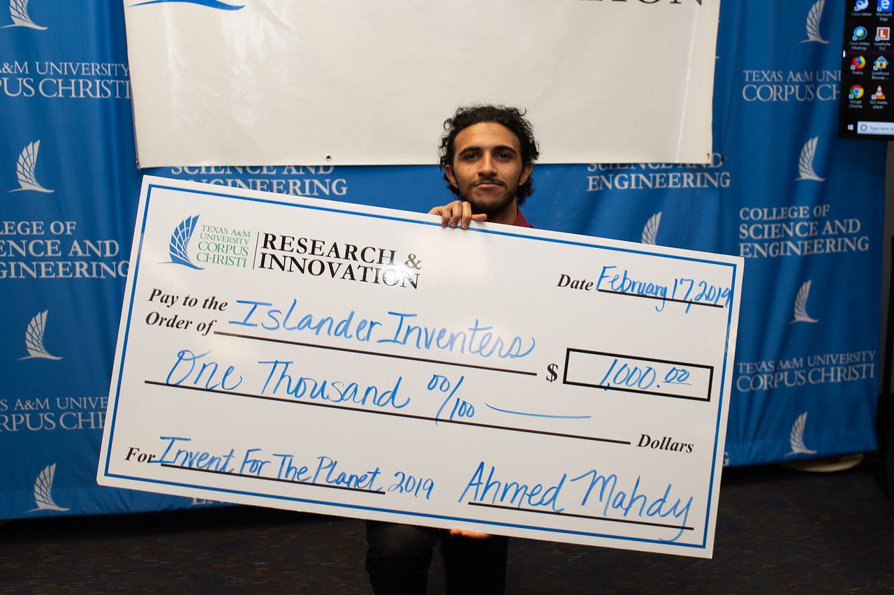 Mahmound Alshaghab of Islander Inventors.