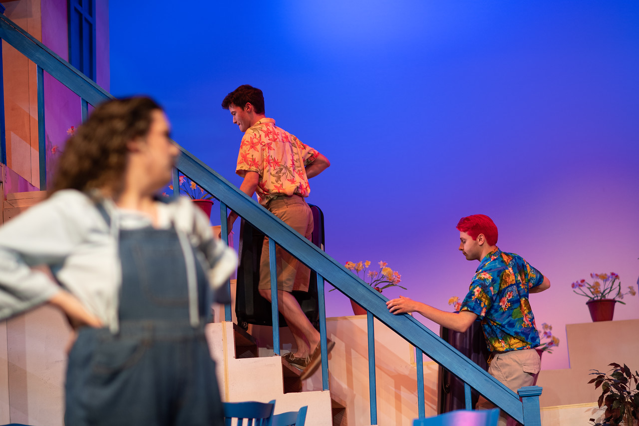 Corpus Christi, TX - Mamma Mia, here we go again! Harbor Playhouse and Texas A&M University-Corpus Christi Department of Theatre and Dance will present a collaborative, meg-hit musical.