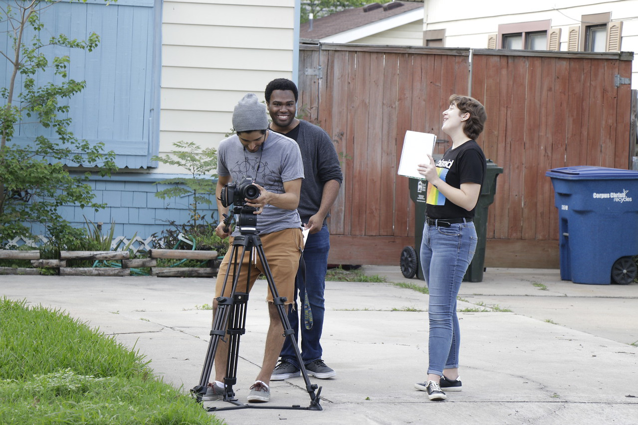 Writer, Producer, Assistant Director, Gary Payton, With Rebecca and Carlos