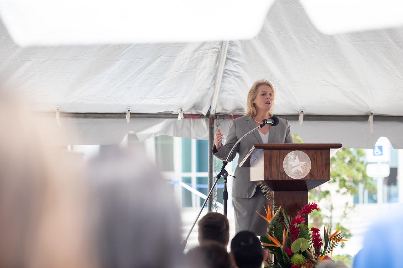 Texas A&M University-Corpus Christi's Tidal Hall grand opening.