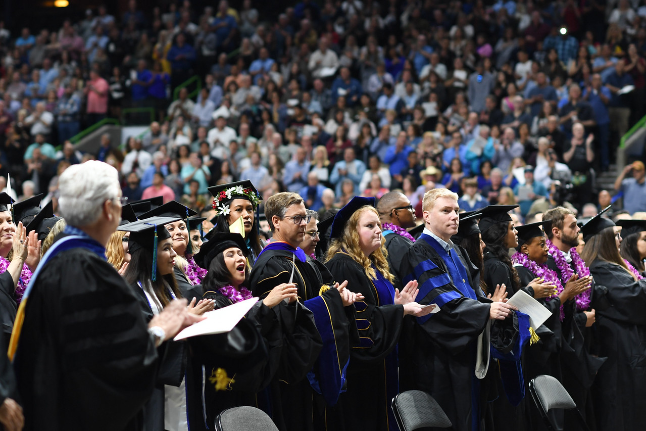 Texas A&M University-Corpus Christi hosted its largest commencement ceremony ever on Saturday, May 11, at the American Bank Center.