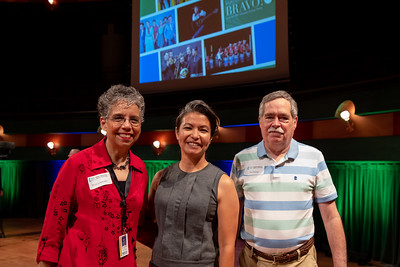The Performing Arts Center at Texas A&M University-Corpus Christi hosts a press conference to announce the series lineup for the 2019-2020 Furgason Bravo Concert Series.