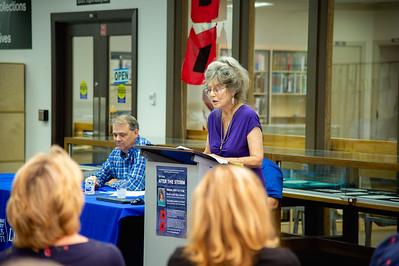 Mary Jo O'Rear presents her keynote address.