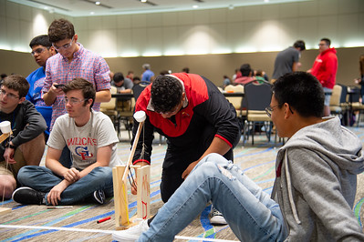 West Oso's Team MD Click tests their catapult
