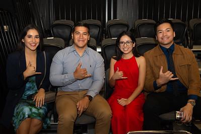Tara Hinojosa (left), Anthony Reyes, Cynthia Ledezma, Peter Castaneda.