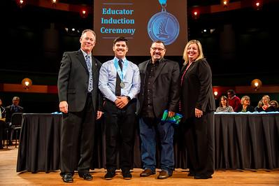Mason Kautz TAMU-CC Marketing & Communications Student Worker - Fall 2019 Educator Induction Ceremony.