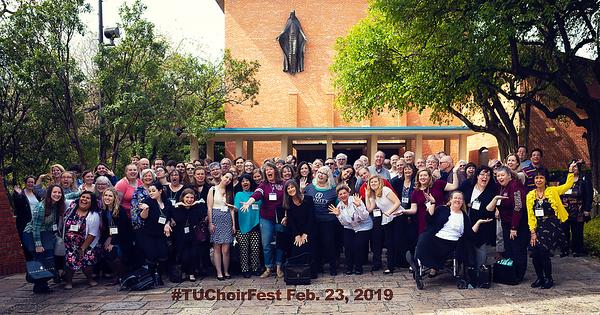 #TUChoirFest Feb. 23, 2019