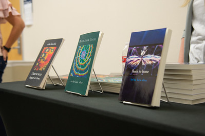 The Department of English at TAMU-CC hosts the 23rd annual University Authors' Day. Award-winning author Ire'ne Lara Silva is the event's keynote speaker.