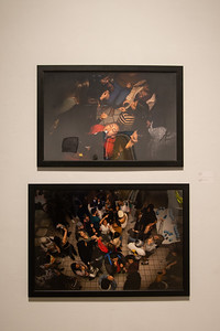 TAMU-CC College of Liberal Arts hosted the MFA Students: Work In Progress opening reception in the Weil Gallery.