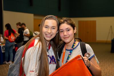 Emily R. (CJ, Freshman), Delilah Villarreal (Junior, Nursing)