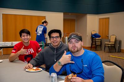 Alec Parson (Kine, Freshman), Joshua Guajaro (Kine, Freshman). Juan Cuevos (Junior, MEEN)