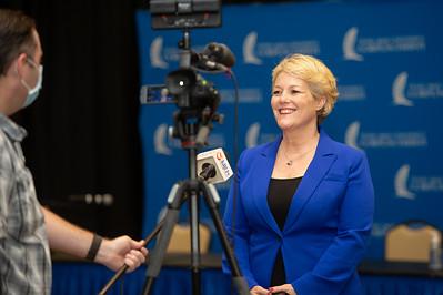 President/CEO of Texas A&M University-Corpus Christi Dr. Kelly Miller.