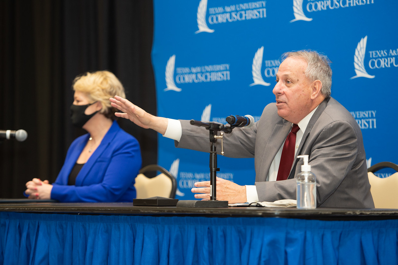 Premont ISD Superintendent of Schools Steve VanMatre.