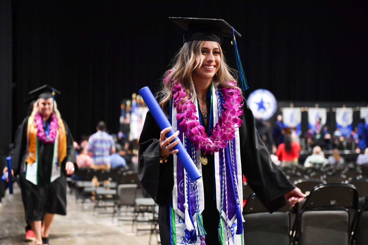 Islander graduates receive their degrees during the Texas A&M University-Corpus Christi spring, summer, and fall 2020 commencement ceremonies.