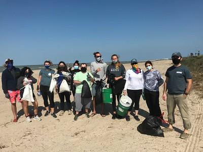Bahr Lab Beach Cleanups
