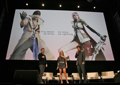 Final Fantasy Event photographed for Maxim Magazine
