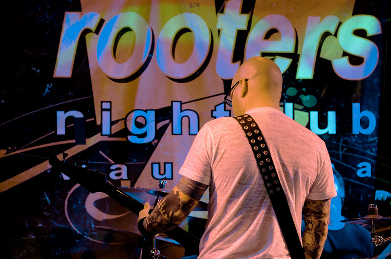 Band photo at Rooters in Waukesha.