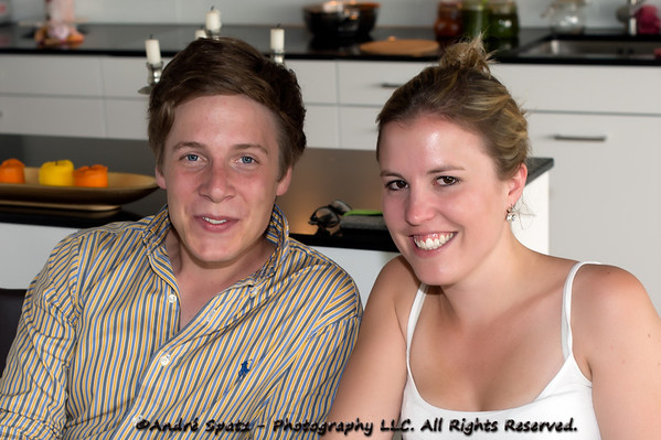 Godfather and Godmother: Patrick & Nadine