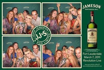 Jameson's Bartenders Ball