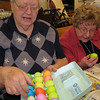 April 9, 2009: Sisters in our Hildegard Health Center were called on to help the Easter bunny dye eggs for Easter celebrations.