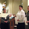 "May 2, 2009: We celebrated a joyous occasion at our monastery today. In the presence of community members, their families, and friends, our two novices made their first monastic profession in a special ritual during Evening Prayer. Sisters Doris Schepers and Gail Hamilton responded to the call to deepen their commitment to the monastic way of life by promising ""stability in this monastery, fidelity to the monastic way of life, and obedience,"" as prescribed by St. Benedict in his Rule 1500 years ago."
