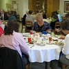 "April 22, 2009: We celebrated Administrative Assistants Day today with a special appreciation event at Kordes Center. Twenty-five office assistants/staff and administrators were treated to a luncheon, an inspirational talk by Sister Jennifer Miller, and a special gift. Sister Jennifer referred to the assistants as ""the backbone of successful institutions and organizations."""