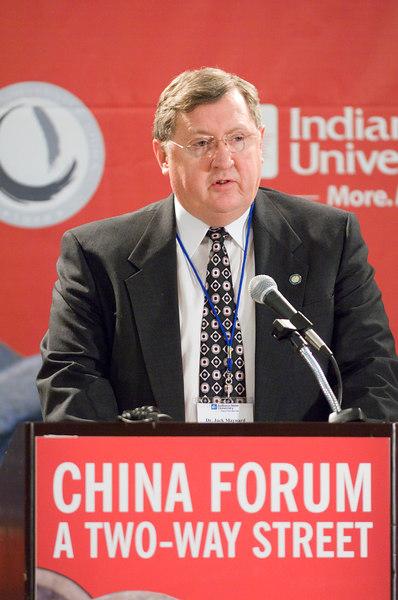 Indiana State University Provost Jack Maynard