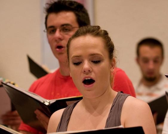 2008 Concert Choir European Tour