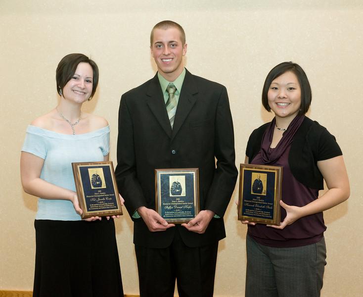 Rankin Award Winners 2008, Kit Corps, Steffyn Kiefer, Hannah Steele