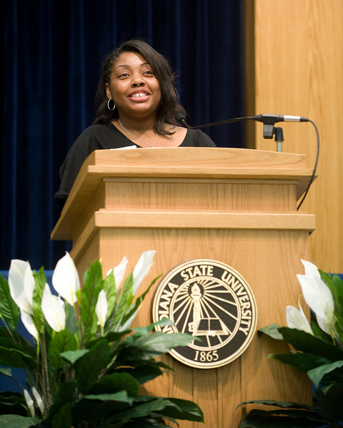 Sasha Edwards, 2007 Star student recipient