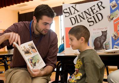 Jarrod Vanzo, Jnr. El Ed Andy Robinson, 5 reading Six Dinner Sid