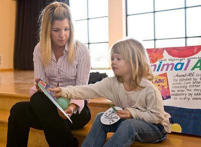 Whitni Hall, Jnr. Elementary Ed Ashley Jones, 5 reading Animal ABC