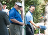 2009 IRM Golf Scramble : Students in Indiana State University's insurance and risk management program hosted the 12th annual Octoberfest Golf Outing September 17, 2009 at the Country Club of Terre Haute. Photos by Kara Berchem