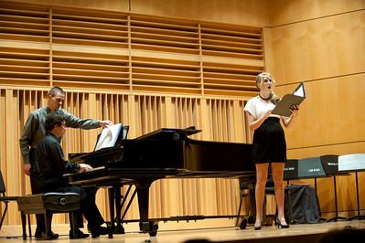 student recital, shelley mitchell vocal, daniel jung piano