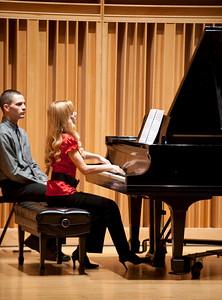 Student Recital, paul hagan composition, sarah burk dye clarinet, martha krasnican piano