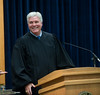 Court of Appeals : Indiana Court of Appeals judges L. Mark Bailey, John G. Baker and Margret G. Robb listened to arguments in the case of Brea Rice v. State of Indiana. The court hearing took place Monday on the campus of Indiana State University.  Photos by Tony Campbell