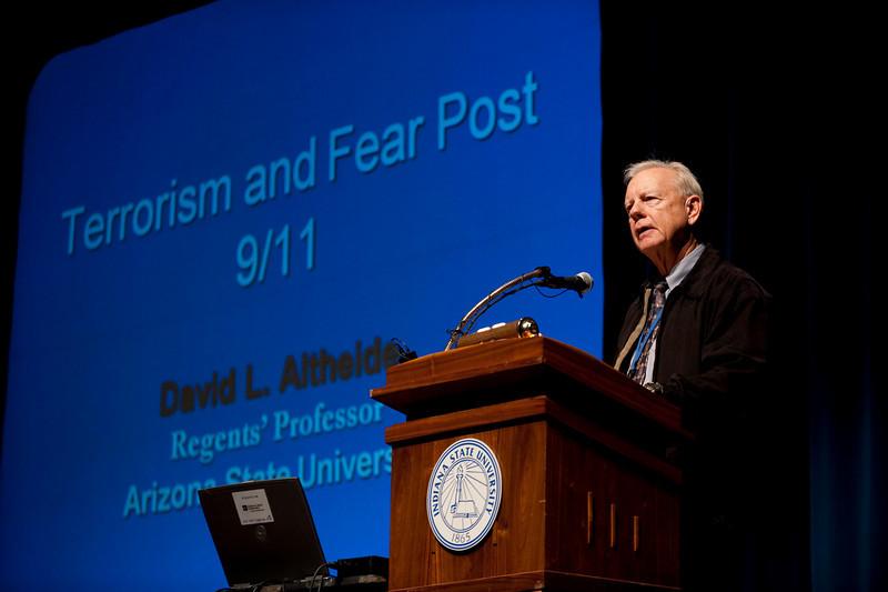 Dr. David Altheide, Regent's Professor, School of Justice and Social Inquiry, Arizona State University