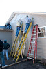 Habitat For Humanity - Interior Design : Interior Design Students at ISU works on a Habitat for Humanity house. Photos By: Tony Campbell