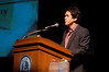 "Mitch Albom - speakers series : Mitch Albom, author of ""Tuesdays with Morrie,"" ""The Five People You Meet in Heaven"" and ""For One More Day,"" spoke on Oct. 19 in Indiana State University's Tilson Auditorium as part of the University Speakers Series.  Photos by Tony Campbell"