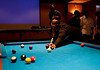 "HMSU Pool Tournament : The HMSU Sycamore Lounge held a pool tournament and show & tell exhibition facilitated by ""The Drill Instructor"" Dominic Esposito.   Photos by Kara Berchem and Gurinder Singh"