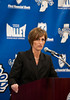 Press Conference: Teri Moren : Indiana State University Director of Athletics Ron Prettyman announced that Georgia Tech Associate Head Coach Teri Moren has been named the new head women's basketball coach at Indiana State. Moren replaces Jim Wiedie, who resigned after 10 seasons at the helm of the Sycamore program.  Moren, a Seymour, Ind., native, recently completed her third season as associate head coach at Georgia Tech, where the Yellow Jackets have made three NCAA Tournament appearances and enjoyed three consecutive 20-win seasons.  Moren previously served as head coach at the University of Indianapolis for seven seasons, where she compiled a 130-73 record. The 2003 WBCA Region 4 Coach of the Year, her teams made appearances in three consecutive NCAA Division II Tournaments and earned the Great Lakes Valley Conference regular-season and tournament titles in 2002-03. Moren was also an assistant coach at Northwestern in 1999-2000 and has additional assistant coaching experience for six years at Butler.  A 1992 graduate of Purdue University with a bachelor's degree in therapeutic recreation, Moren lettered four years in basketball and was a two-year starter for the Boilermakers. Her Purdue squad also earned the 1991 Big Ten Championship in Moren's junior season.  Photos by Kara Berchem