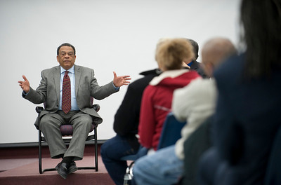 ISU students and community members had a Q&A session with former ambassador and civil rights figure Andrew Young.