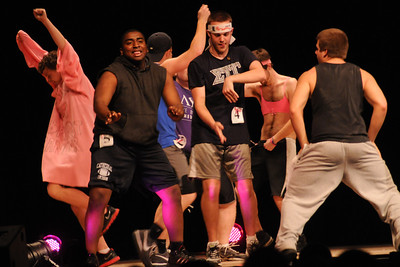 Big man on campus talent show breast cancer fundraiser